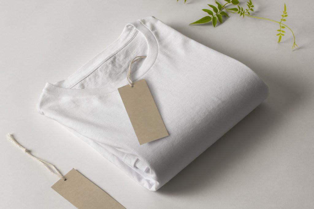 folded tshirt mockup
