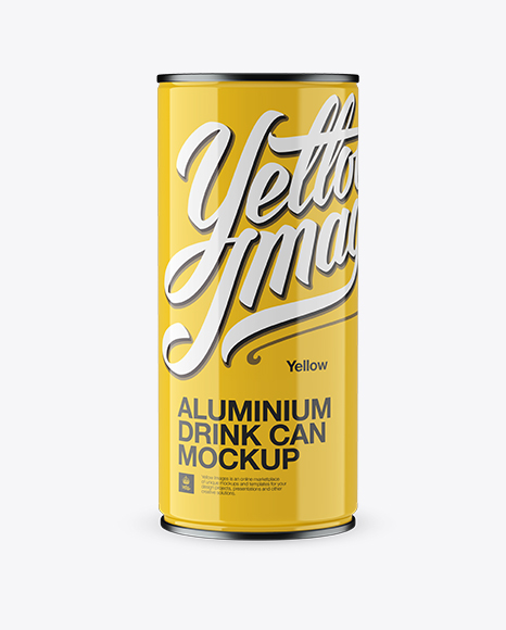 Aluminium Can Mockup