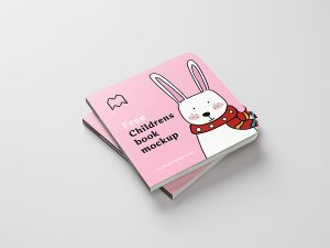 Childrens Book Mockup