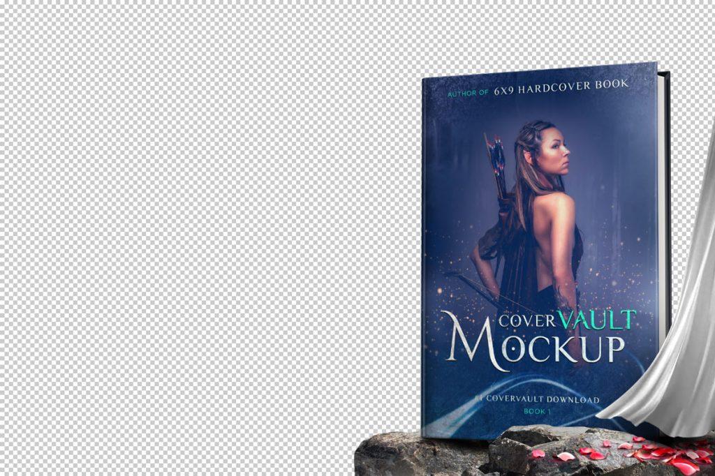 Fantasy Hardcover Book Mockup