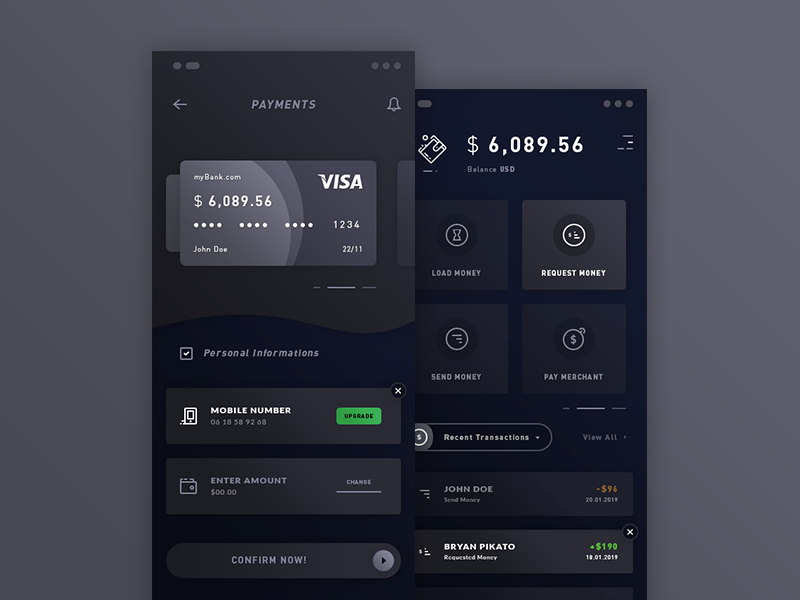 Payments And Wallet App
