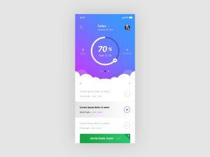 Tasks screen app