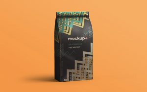 Free Coffee Bag PSD