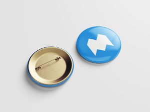pin button mockup