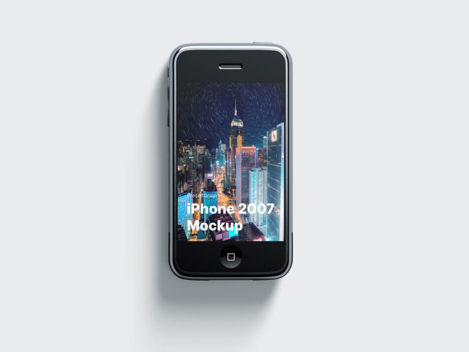 First iPhone Mockup