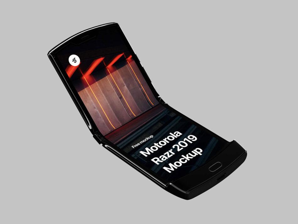 Free Motorola Razr 2019 Mockup