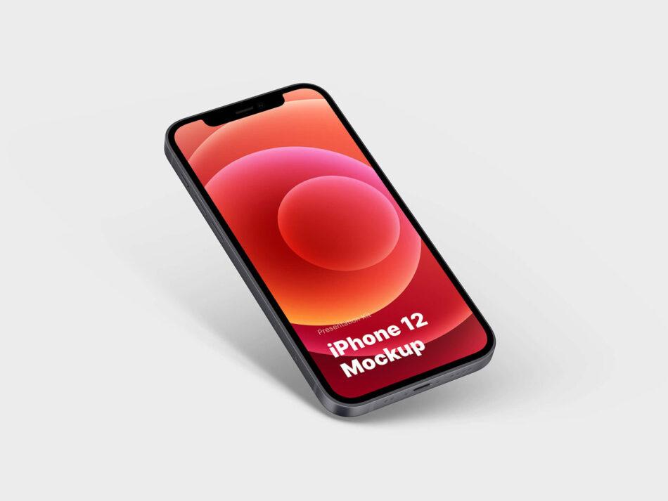 Free iPhone 12 Mockup