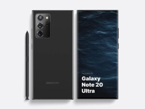 Galaxy Note 20 Ultra Mockup