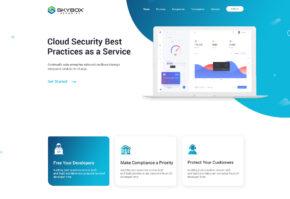 Security Website Template Design