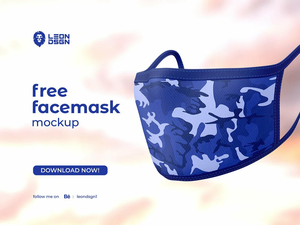 Face Mask Mockup