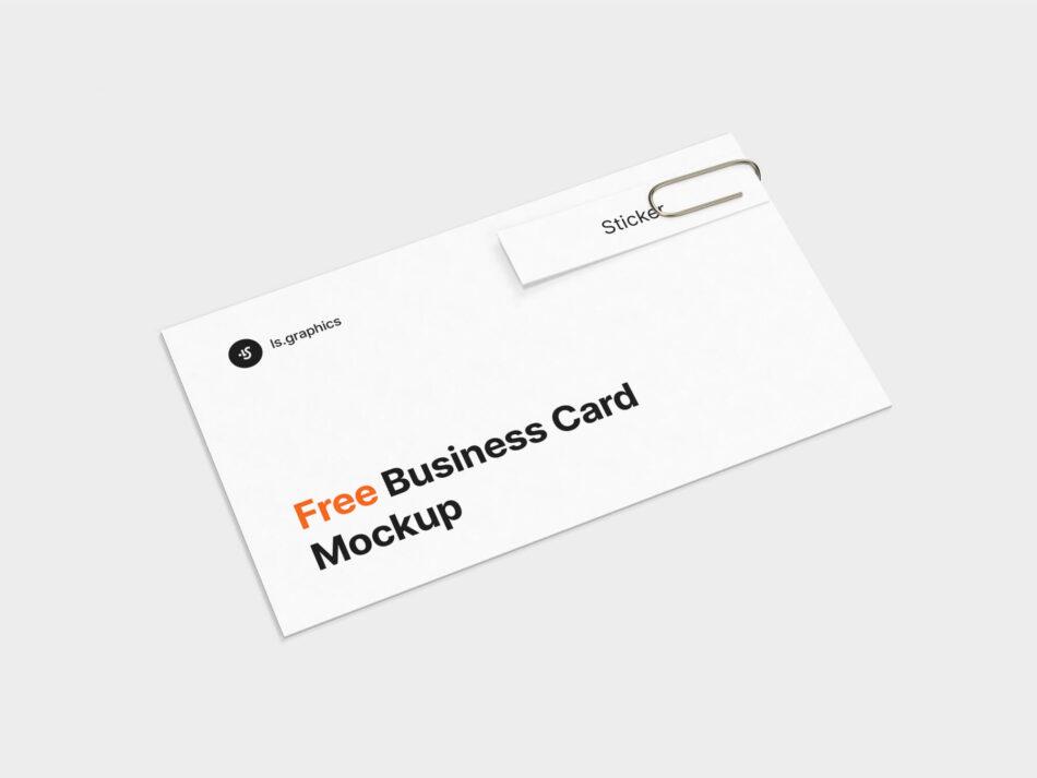 Business Card & Sticker