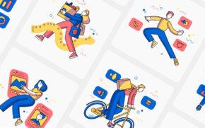 Clusck! Illustration Kit