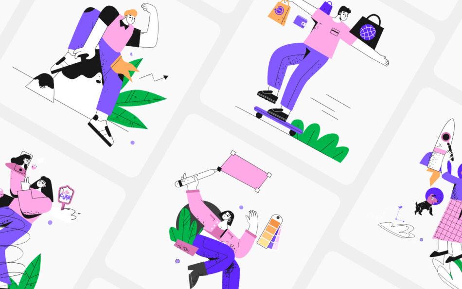 Hooonk! Illustration Kit