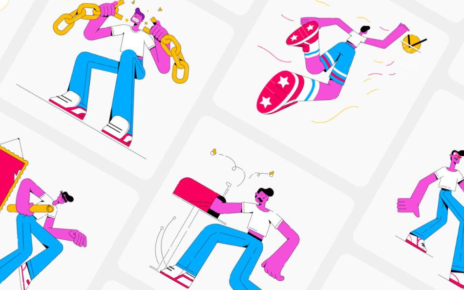 Yaay! Illustration Kit