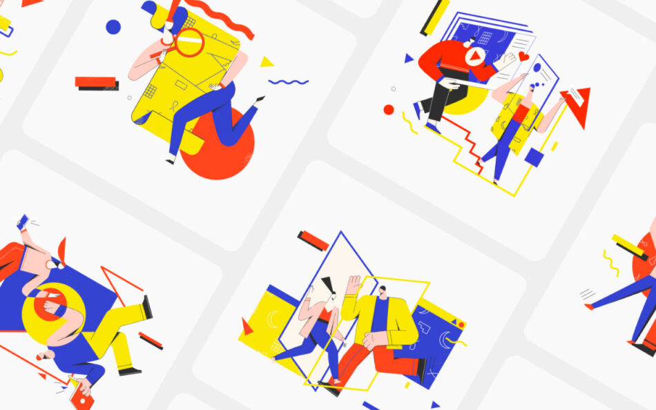 Yeeow! Illustration Kit