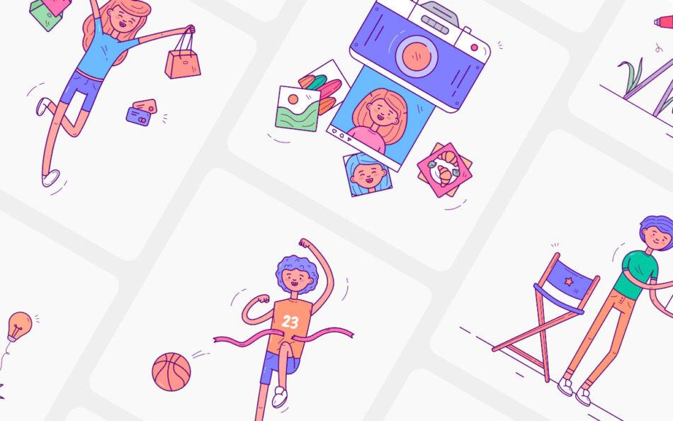 Zaap! Illustration Kit