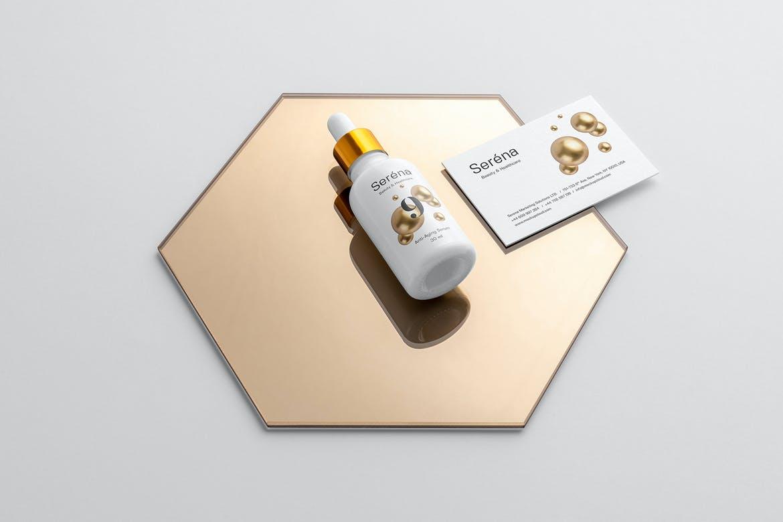 Serena – Free Cosmetics Mockup Template
