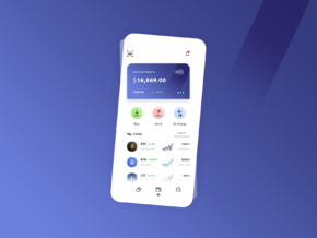 free crypro Wallet psd