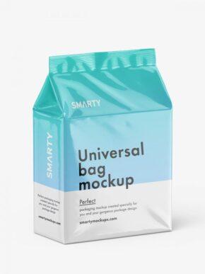 Universal bag mockup