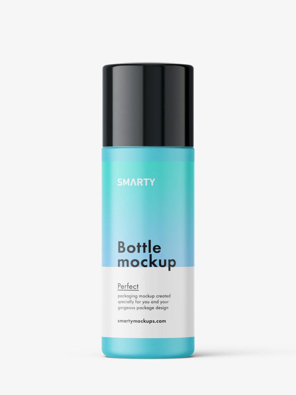Universal matt bottle mockup