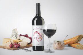 Wine Packaging Mockup Scene